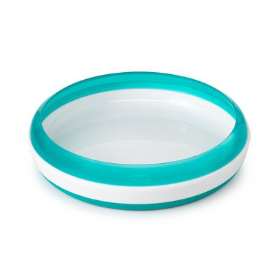 Oxo Tot Plate - Teal - All-Star Learning Inc. - Proudly Canadian
