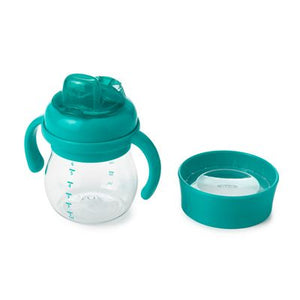 Oxo Tot Transitions Soft Spout Sippy Cup Set - Teal - All-Star Learning Inc. - Proudly Canadian