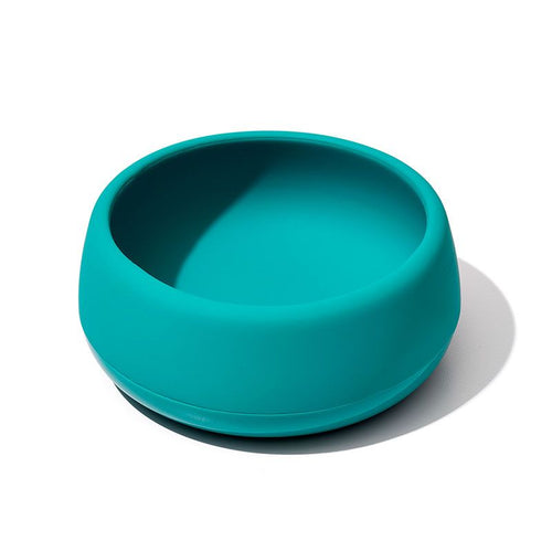 Oxo Tot Silicone Bowl - Teal - All-Star Learning Inc. - Proudly Canadian