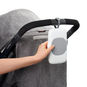 Oxo Tot On the Go wipe Dispenser - Grey - All-Star Learning Inc. - Proudly Canadian