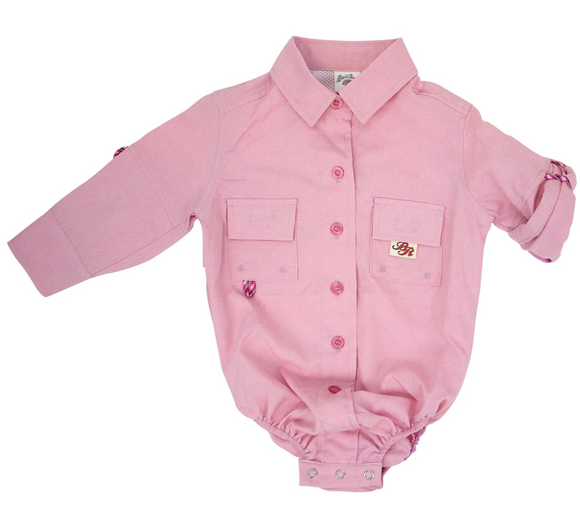 Pink Fishing Onesie