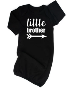 Little Brother Black Gown