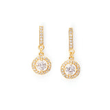 Aliana In the Sun 18K Gold Plated Drop Earrings