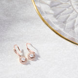 Amira 18K Rose Gold-Plated Drop Earrings