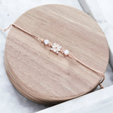 Paloma in the Snow 18K Rose-Gold Plated Charm Bracelet