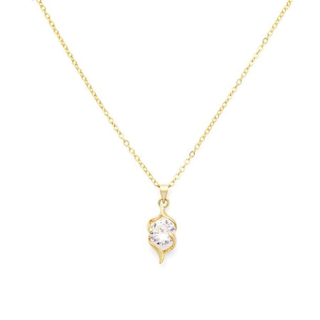 Symphony Emerson 18K White-Gold Plated 2.7 Ctw Crown Cascade Pendant