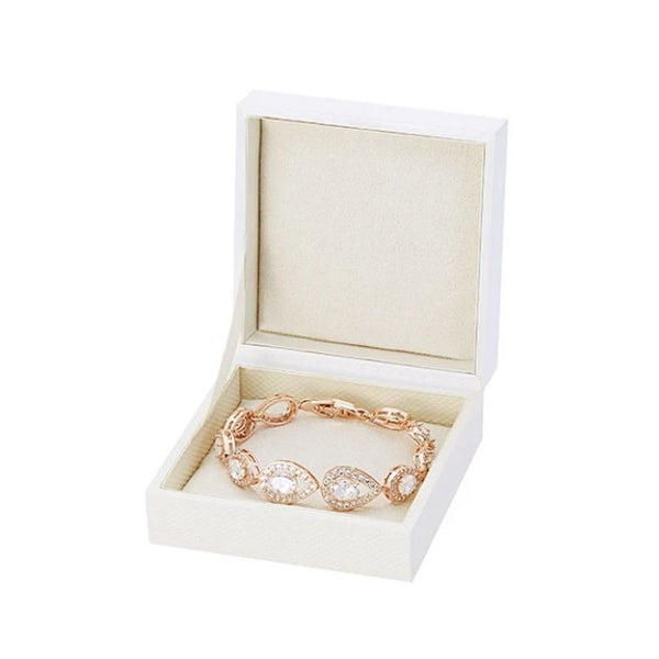 Roselle 18K Rose Gold-Plated Link Bracelet