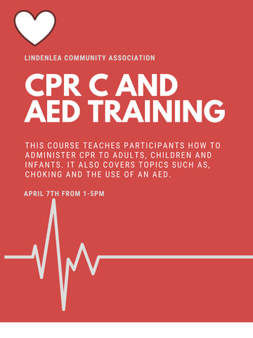 CPR C AND AED - April 7th