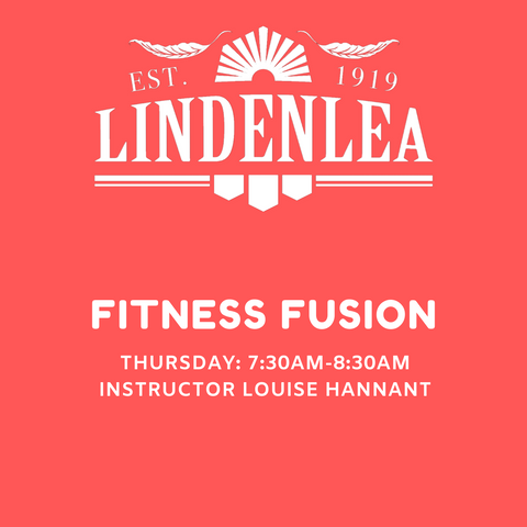 FITNESS FUSION - Thursday: 7:30AM-8:30AM