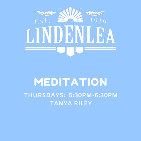 MEDITATION - THURSDAY 5:30PM-6:30PM