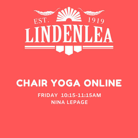 CHAIR YOGA ONLINE