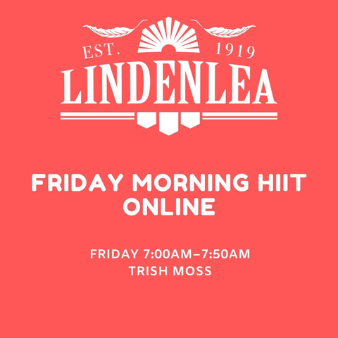 FRIDAY MORNING HIIT  ONLINE