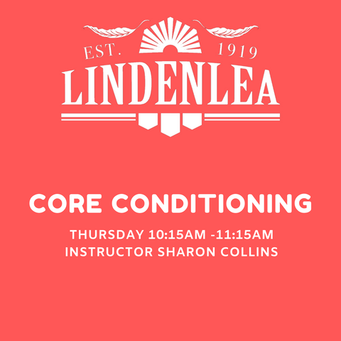 CORE CONDITIONING - Thursday 10:15AM -11:15AM