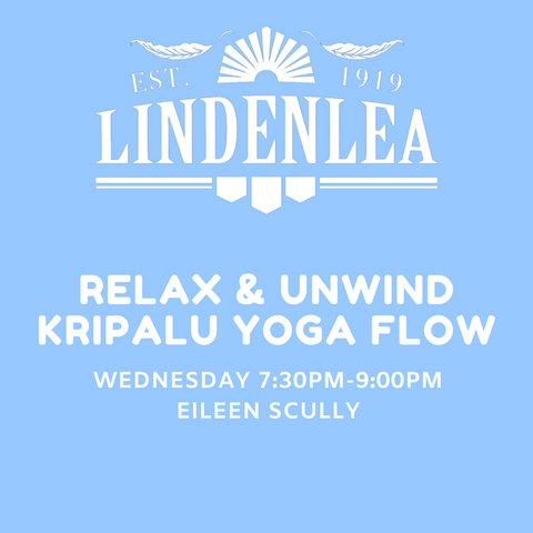 RELAX & UNWIND KRIPALU YOGA FLOW - Wednesday 7:30pm-9:00pm