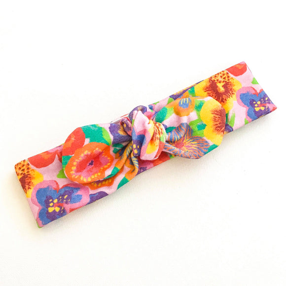 'Pansy' BowKnot Headband - by TopKnot Girl
