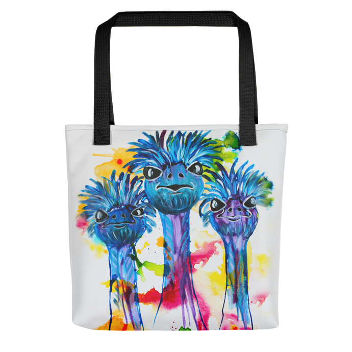 Three Ostriches • Tote Bag