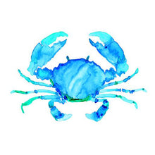 Load image into Gallery viewer, Blue Crab art print