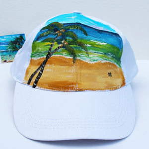 """Coconut Palms"" Hat"