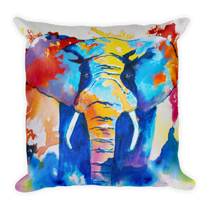 Elephant • Square Pillow