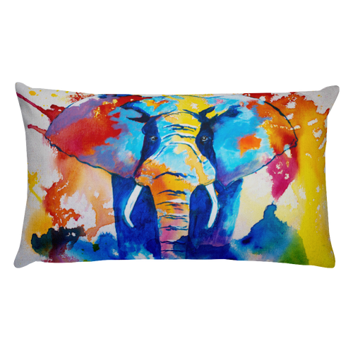 Elephant • Rectangle Pillow