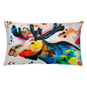 Moose • Rectangle Pillow
