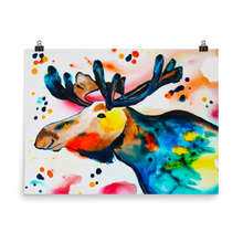 Load image into Gallery viewer, Moose • Art Print