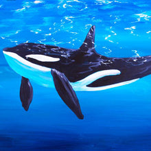Load image into Gallery viewer, Orca Art Print