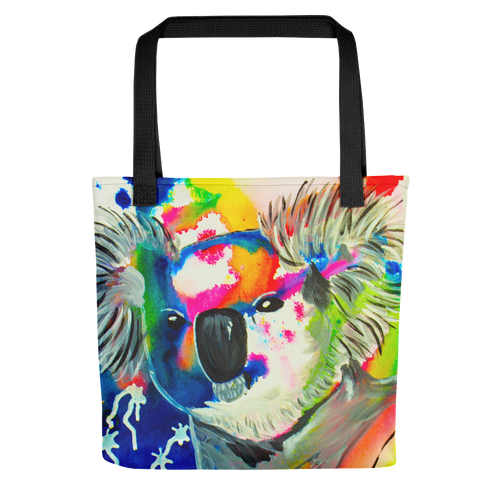 Colorful Koala • Tote Bag