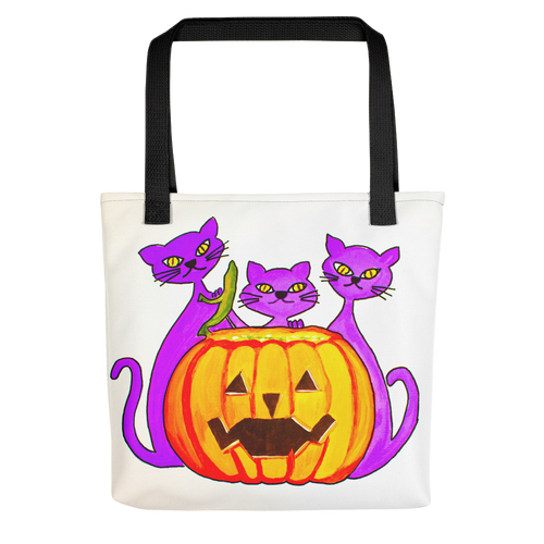 Halloween Cats • Tote Bag