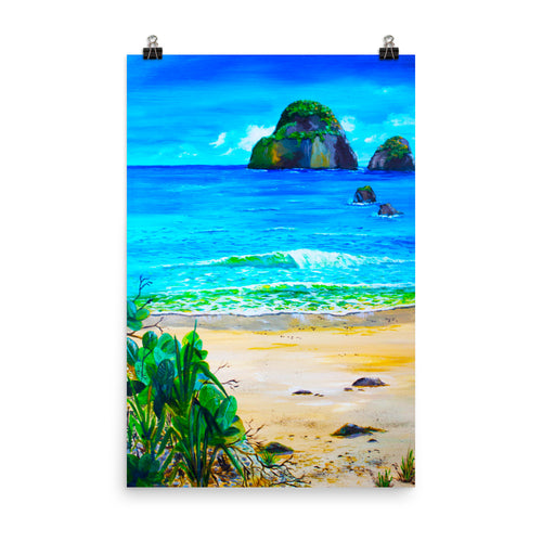 My Kinda Beach • Art Print