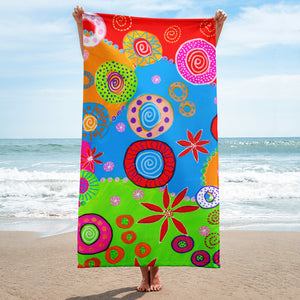 Wheels of Color • Towel
