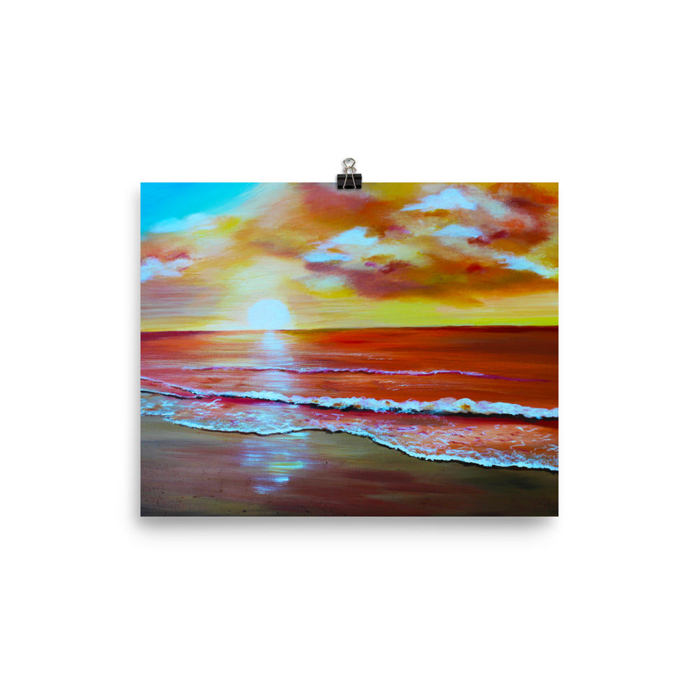 Sunset Beach • Art Print