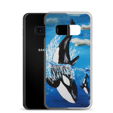 Orca and Baby • Samsung Case