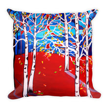 Sunset Aspens • Square Pillow