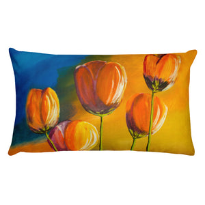 Tulips • Rectangular Pillow