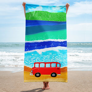 Orange Bus • Towel