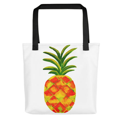 Golden Pineapple Tote Bag