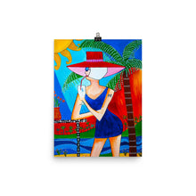 "Load image into Gallery viewer, ""Tropical Bliss"" Art Print"
