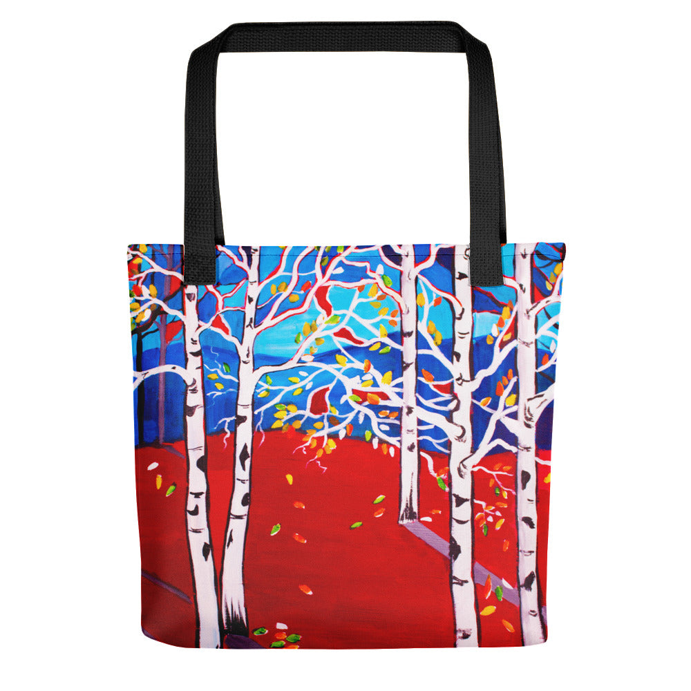 Sunset Aspens • Tote bag