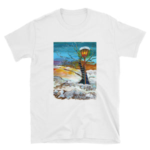 Lights In The Snow • Short-Sleeve Unisex T-Shirt
