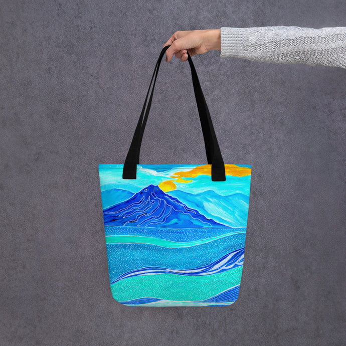 Dotted Waters • Tote bag