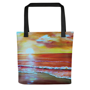 Sunset Beach • Tote Bag