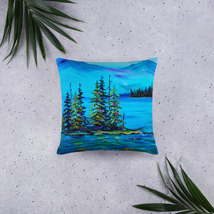 Mountain Mist • Basic Pillow Front