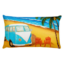 Beach Time II Rectangular Pillow