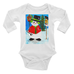Mail For Santa • Infant Long Sleeve Bodysuit