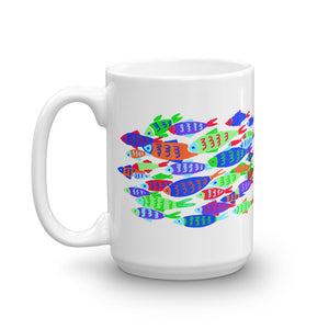 Colorful Fish Mug