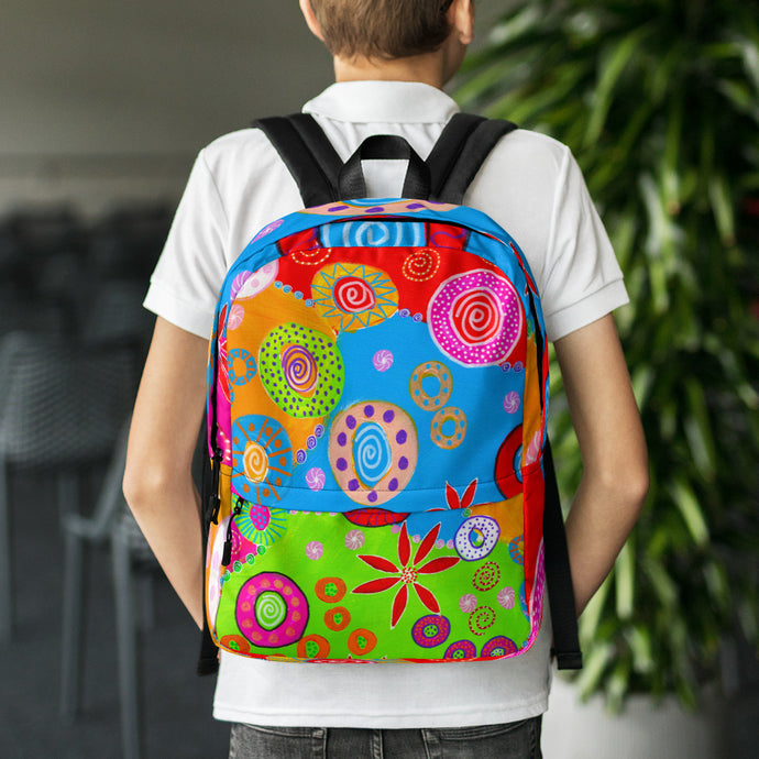 Wheels of Color • Backpack