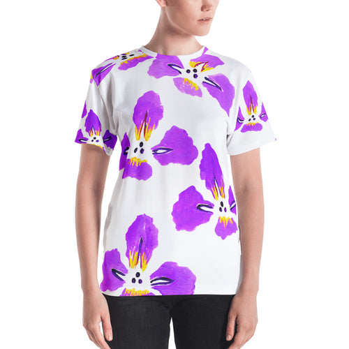 Purple Iris Women's T-Shirt