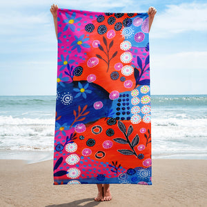 Garden Of Flowers • Towel