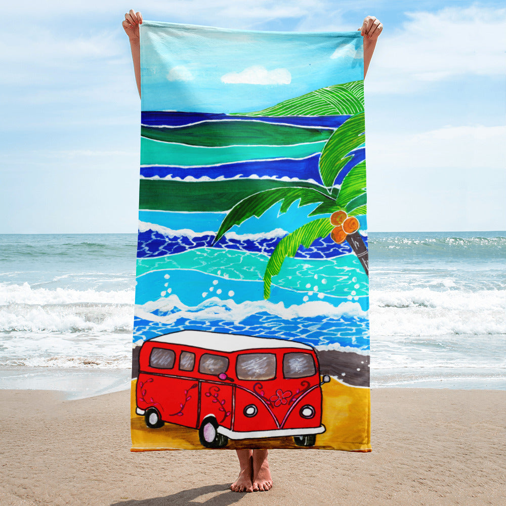 Red Bus • Towel